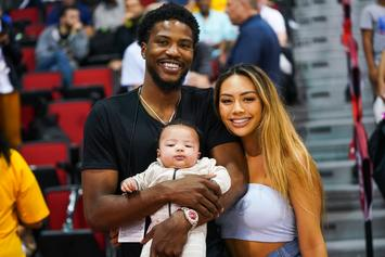 Malik Beasley's Wife Calls Larsa Pippen A Liar Over Relationship Timeline