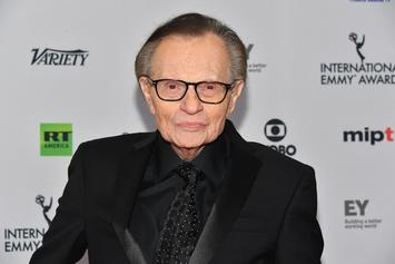 Larry King Hospitalized With COVID-19: Report