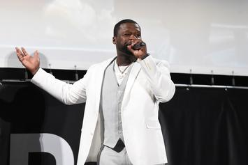 """50 Cent Reacts To His New Song Going #1: """"I'm Still 50 Cent"""""""