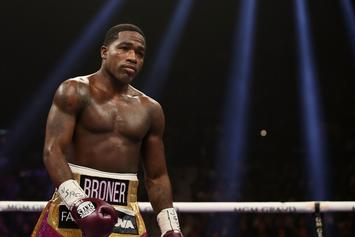 Adrien Broner Admits He's Down Bad With Gnarly Feet Pics