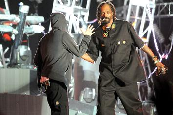 "Snoop Dogg Opens Up About Eminem: ""We're Still Friends"""