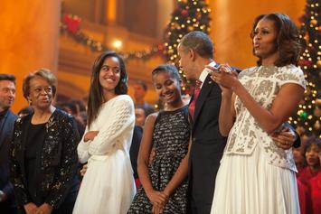 Barack Obama Shares Gorgeous Family Photo & Sweet Message For Valentine's Day
