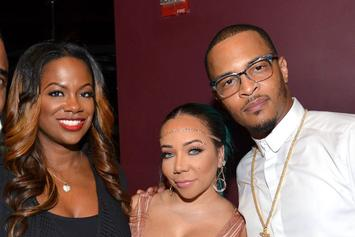 """Kandi Burruss Defends T.I. & """"Sister"""" Tiny: """"They're Like Family To Me"""""""