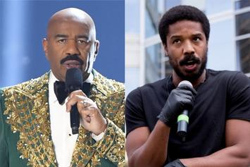Steve Harvey Says Michael B. Jordan Isn't The Sexiest Man Alive