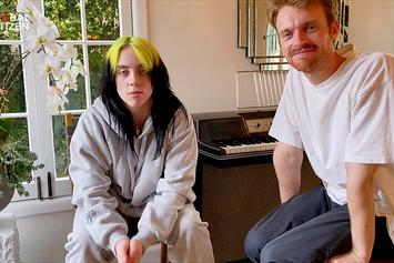 "Finneas Jokes That Billie Eilish Has ""Complete Control"" Over Him At Grammys"