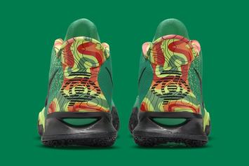 """Nike Kyrie 7 """"Weatherman"""" Officially Unveiled: Photos"""