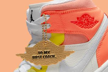 """Air Jordan 1 Mid """"To My First Coach"""" Coming Soon: Official Images"""