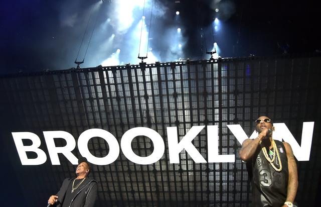 Jay Z and Fabolous performing for TIDAL