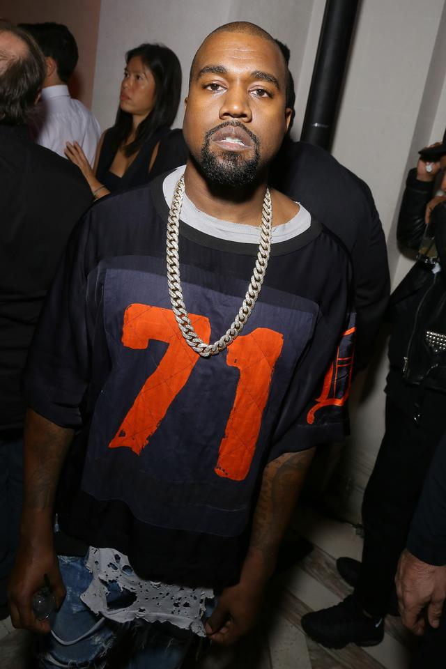 Kanye West at Vogue 95th Anniversary Party