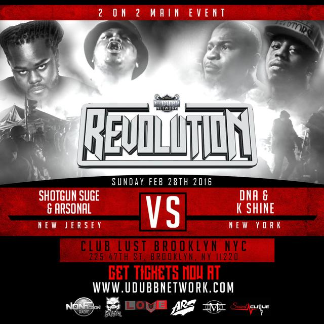 Arsonal & Shotgun Suge vs DNA & K-Shine