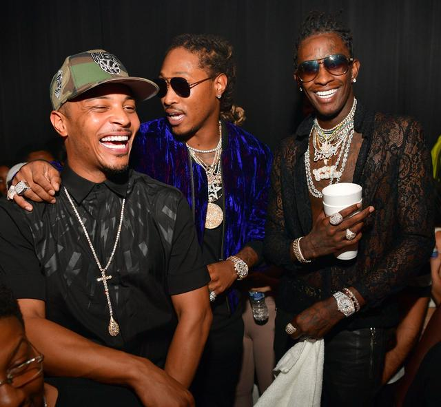 T.I., Future and Young Thug
