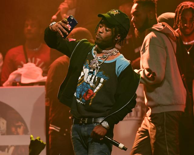 Lil Uzi Vert with Migos in Atlanta