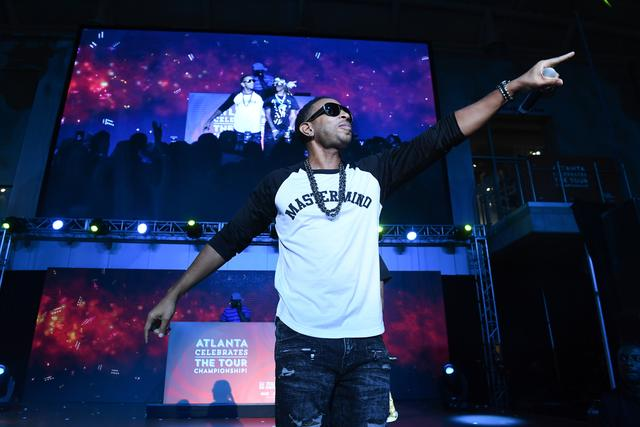Ludacris performing