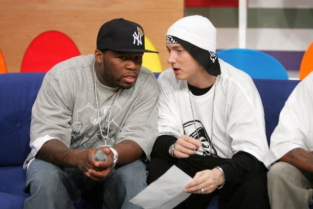 50 Cent & Eminem 2006 at BET