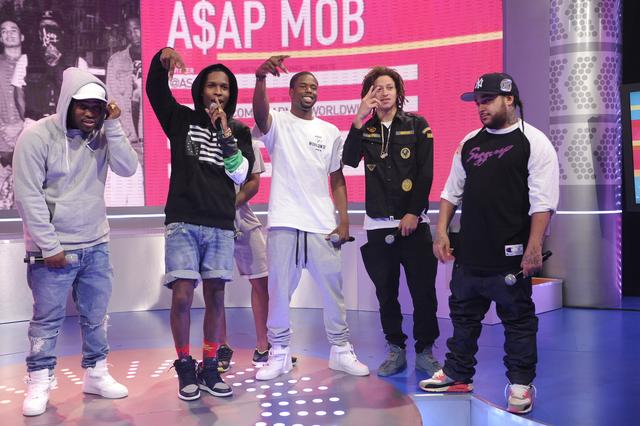 ASAP Mob at BET 106 & Park