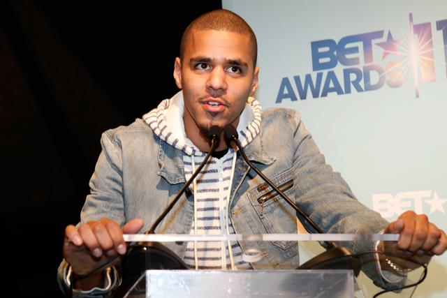 J. Cole at 2011 BET Awards announcement