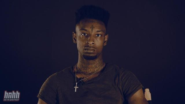 21 Savage at the HNHH Office in NYC