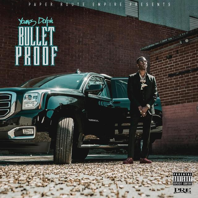 Young Dolph Bulletproof album cover
