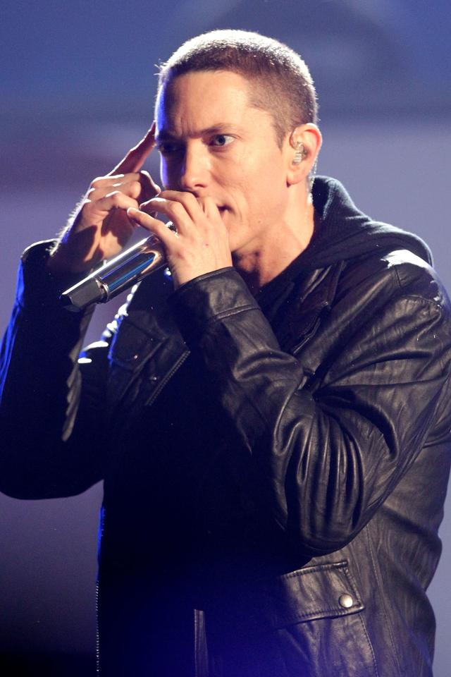 Eminem performing at BET Awards 2010