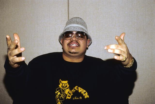 Heavy D in 1988 in New York City