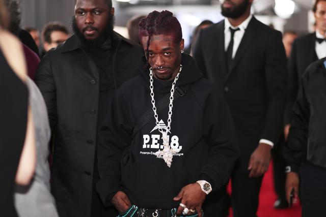 Lil Uzi Vert at the Grammys 2018