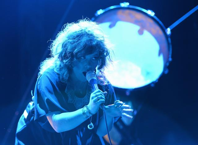 Megan James of Purity Ring
