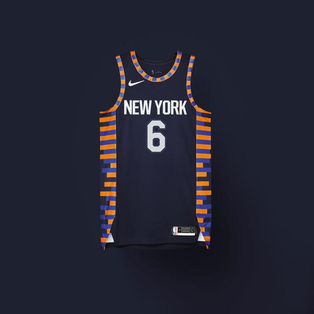 Knicks 2018-19 City Edition Uniform