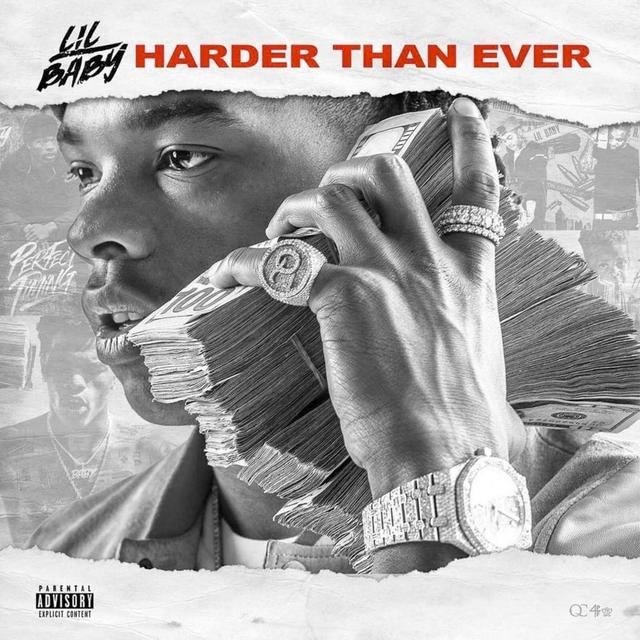 Lil Baby Harder than Ever art