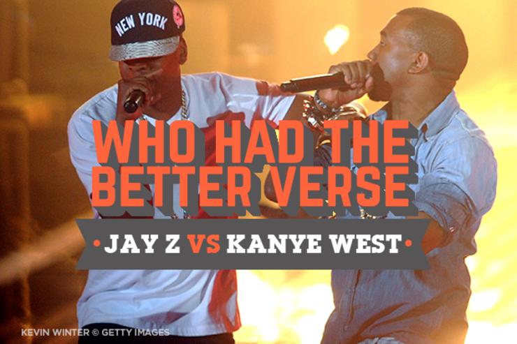 Who had the better verse jay z vs kanye west malvernweather Images