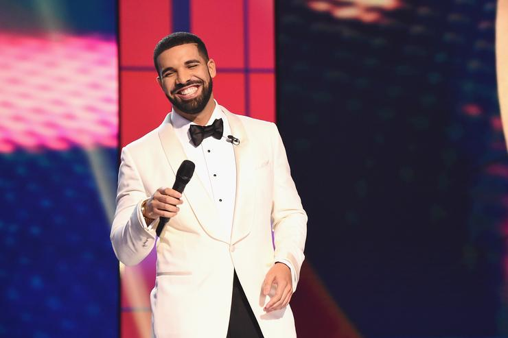 Host Drake speaks on stage during the 2017 NBA Awards Live On TNT on June 26, 2017 in New York Cit