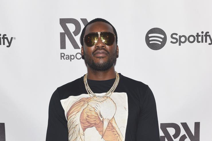 Meek Mill at Spotify's RapCaviar Live at The Tabernacle on August 12, 2017 in Atlanta, Georgia.