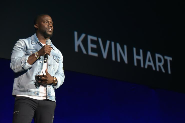 Kevin Hart's alleged sex tape partner stages press conference