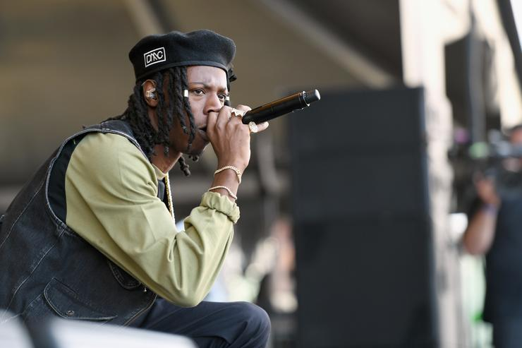 Joey Bada$$ performs onstage during the Meadows Music And Arts Festival - Day 1 at Citi Field on September 15, 2017 in New York City.