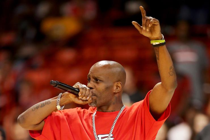 Rapper DMX performs during week five of the BIG3 three on three basketball league at UIC Pavilion on July 23, 2017 in Chicago, Illinois