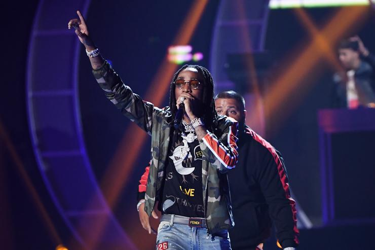 Quavo performs onstage during the 2017 iHeartRadio Music Festival at T-Mobile Arena on September 23, 2017 in Las Vegas, Nevada.