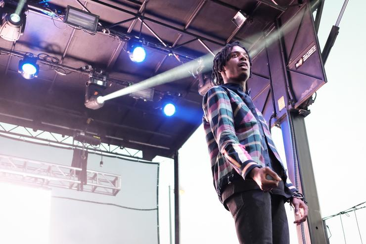 Playboi Carti performs on August 20, 2017 in Wantagh City.