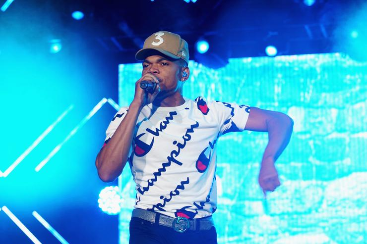 Chance the Rapper performs onstage at the 2017 ESSENCE Festival Presented By Coca Cola at the Mercedes-Benz Superdome on July 2, 2017 in New Orleans, Louisiana.