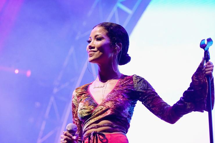 Jhene Aiko performs onstage at night two of the STAPLES Center Concert, presented by Coca-Cola, during the 2017 BET Experience at LA Live on June 23, 2017 in Los Angeles, California.