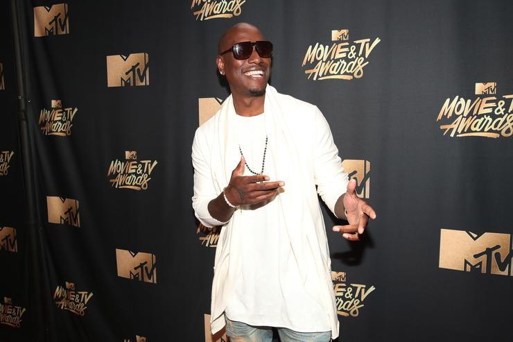 Actor Tyrese Gibson attends the 2017 MTV Movie And TV Awards at The Shrine Auditorium on May 7, 2017 in Los Angeles, California.