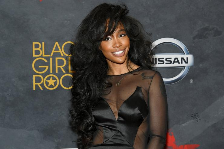 SZA attends Black Girls Rock! 2017 at NJPAC on August 5, 2017 in Newark, New Jersey.