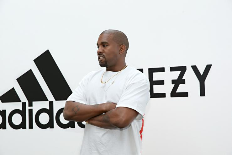 Kanye West at Milk Studios on June 28, 2016 in Hollywood, California. adidas and Kanye West announce the future of their partnership: adidas + KANYE WEST