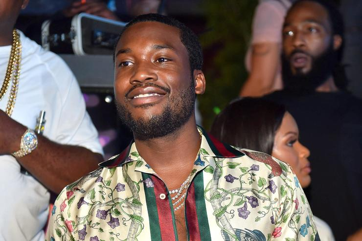 Meek Mill at Wins & Losses party