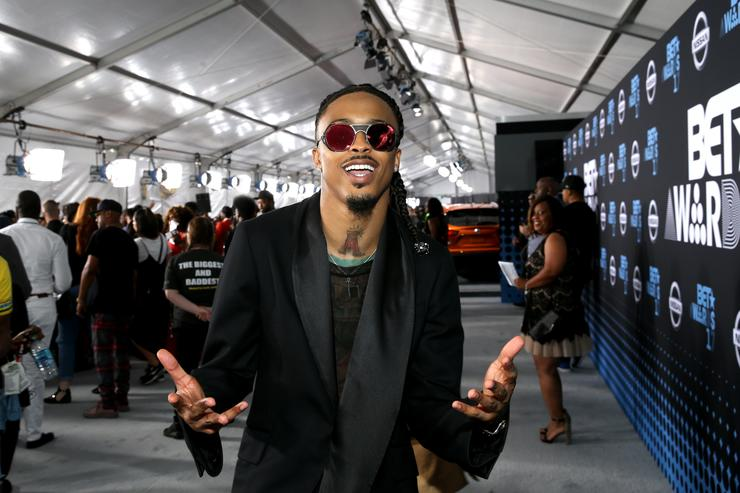 August Alsina at the 2017 BET Awards at Staples Center on June 25, 2017 in Los Angeles, California.