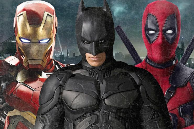 Iron Man, Batman and Deadpool