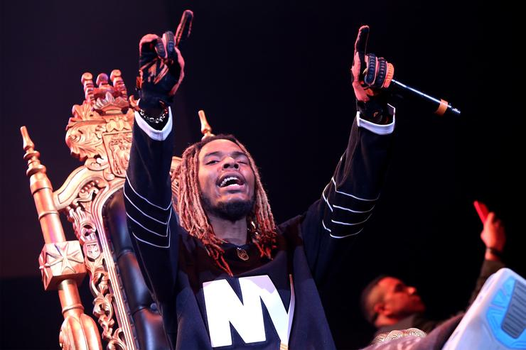 Rapper Fetty Wap performs onstage during 105.1's Powerhouse 2015 at the Barclays Center on October 22, 2015 in Brooklyn, NY.