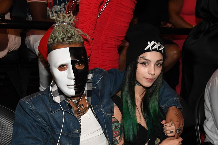 XXXTentacion attends the BET Hip Hop Awards 2017 at The Fillmore Miami Beach at the Jackie Gleason Theater on October 6, 2017 in Miami Beach, Florida.