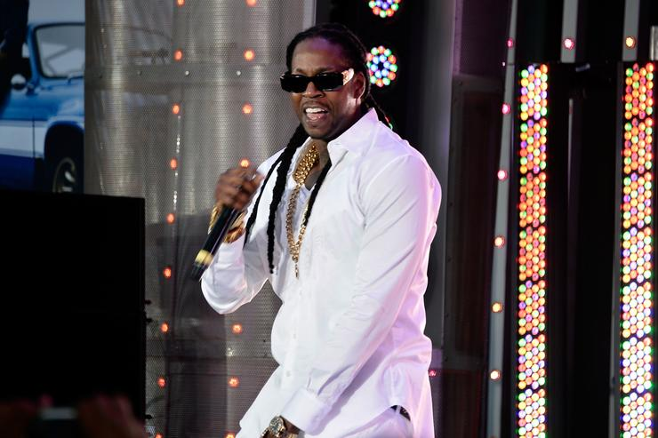 Rapper 2 Chainz performs at the Premiere Of Universal Pictures' 'Fast & Furious 6' on May 21, 2013 in Universal City, California.