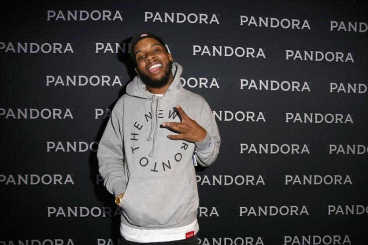 Rapper Tory Lanez attends the PANDORA Discovery Den SXSW on March 18, 2016 in Austin, Texas.