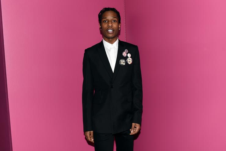 ASAP Rocky attends the 2015 Guggenheim International Gala Dinner made possible by Dior at Solomon R. Guggenheim Museum on November 5, 2015 in New York City.