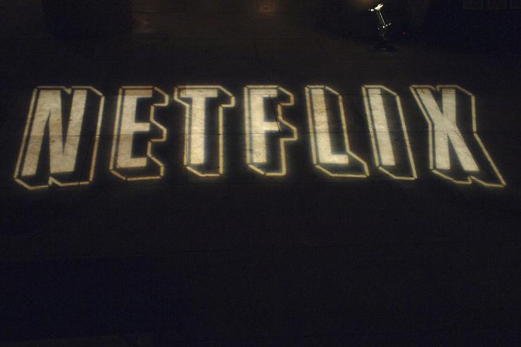 Signage is seen at Netflix Presents a Special Screening of 'The Comedians of Comedy: The Movie' at the Egyptian Theatre on November 16, 2005 in Hollywood, California.